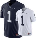 Penn State Nike Men's Twill #1 Football Jersey