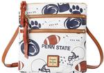 Penn State Dooney and Bourke Gameday Triple Zip Bag