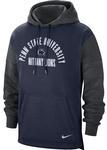 Penn State Nike Men's Distressed Fan Hooded Sweatshirt