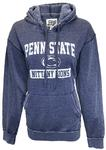 Penn State Worn Out Burnout Hooded Sweatshirt