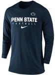 Penn State Nike Men's Football Long Sleeve Shirt