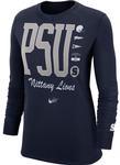Penn State Nike Women's Crew Cuff Long Sleeve Shirt
