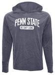 Penn State Men's Dyed Adeft Jr. Hooded Long Sleeve