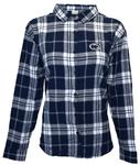 Penn State Women's Boyfriend Plaid Dress Shirt