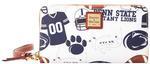 Penn State Dooney & Bourke Gameday Zip Around Wristlet