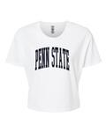 Penn State Women's Arch Cropped T-shirt