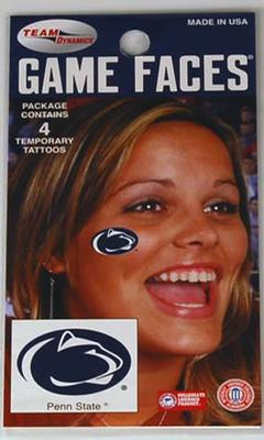 Innovative Adhesives - Penn State Logo Temporary Tattoos
