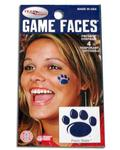 Penn State Paw Temporary Tattoos Set of Four