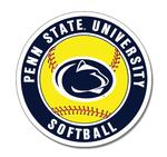 Penn State University Softball Magnet