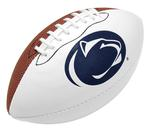 Penn State Logo Autograph Mini Sized Football BROWNWHITE