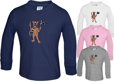 The Family Clothesline - Penn State Toddler Long Sleeve Tshirt