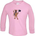 Penn State Toddler Long Sleeve Tshirt PINK