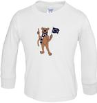 Penn State Toddler Long Sleeve Tshirt WHITE