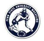 Penn State University Wrestling Magnet NAVYWHITE