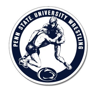 SDS Design - Penn State University Wrestling Magnet