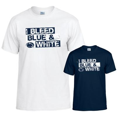 The Family Clothesline - Penn State T-shirt with I Bleed Print