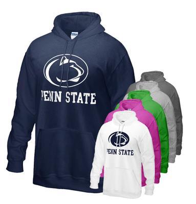 The Family Clothesline - Penn State Logo Block Hooded Sweatshirt