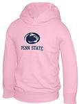 Penn State Toddler Logo Block Hood Sweatshirt PINK