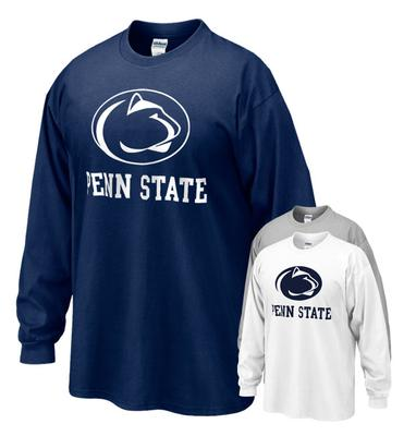 The Family Clothesline - Penn State Youth Logo Block Long Sleeve