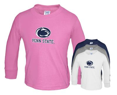 The Family Clothesline - Penn State Toddler Logo Block Long Sleeve