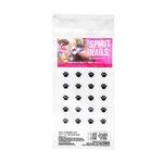 Penn State Fingernail Tattoo NAVY