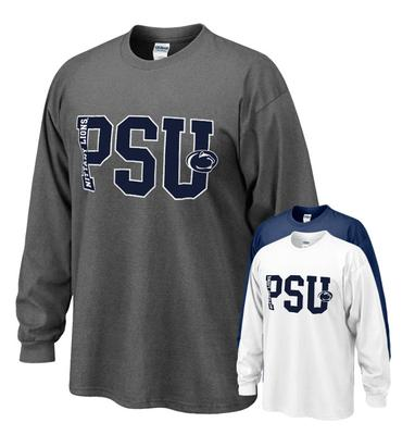 The Family Clothesline - Penn State Big PSU Long Sleeve T-shirt