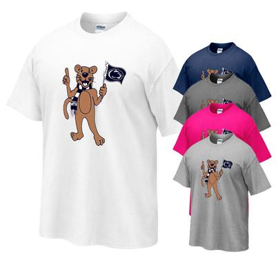 The Family Clothesline - Penn State Youth Mascot Flag T-shirt
